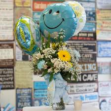 balloon delivery balloon world new new baby gift fgt211 in bensalem pa flower girl florist