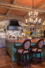 Santa Fe Style Interior Design by Pleasing Santa Fe Style Homes With Stone Top Coffee Table Wood