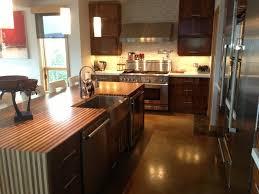 Cutting Board Kitchen Countertop - modern kitchen countertops from unusual materials 30 ideas