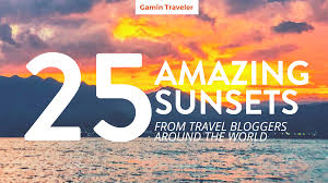 25 amazing sunsets from all around the world gamintraveler