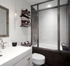 bathroom floating shelves for towel storage with undermount sink