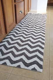 Chevron Runner Rug Bath Mat Runner