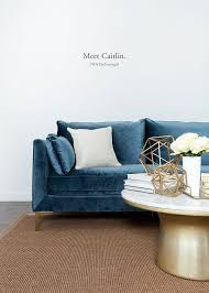 Blue Sofa Set Living Room Best 25 Blue Sofas Ideas On Pinterest Blue Velvet Velvet Sofa