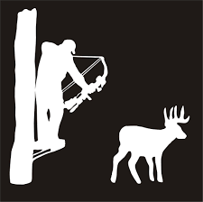 lime slice silhouette tree stencils google search deer hunting silhouettes