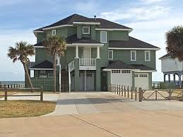 beach front house with 8 king beds decked access to private beach