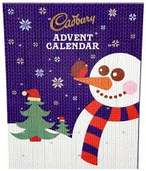 cadbury dairy milk advent calendar 90g 3 1oz cadbury http