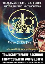 Electric Light Orchestra Telephone Line The Towngate Theatre E L O Again Return To The Blue Tour
