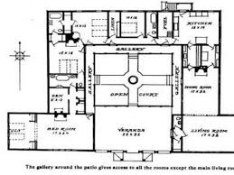 courtyard floor plans breathtaking spanish style house plans with interior courtyard