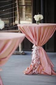table sashes ruffled hightop table sashes bash wedding