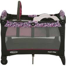 Pink And Brown Graco Pack N Play With Changing Table Babygiftsoutlet Graco Pack N Play With Reversible Napper And