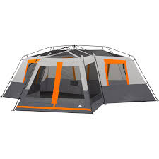 cabin tent ozark trail 12 person camping family outdoor instant