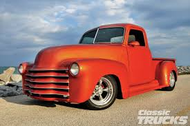 Oldride Classic Trucks Chevrolet - 1951 chevy pickup a man with a plan rod network