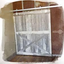 Barn Wood Doors For Sale Custom Made Reclaimed Barn Wood Sliding Barn Door By Heirloom Llc