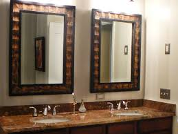 Bathroom Mirror Height From Vanity Height Of Bathroom Vanity Light Standard Lighting Mirror How High