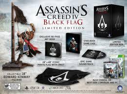 Ac4 Black Flag Assassin U0027s Creed 4 Black Flag Limited Edition Revealed Monstervine