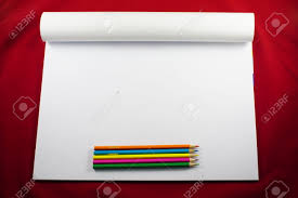 colored pencils sketch pad drawing stock photo picture and