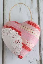 valentine u0027s day craft paper mache heart crafts unleashed