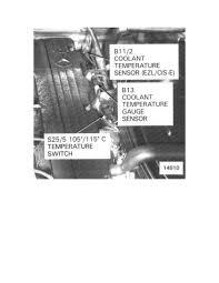 exhaust fan temperature switch mercedes benz workshop manuals 260e 124 026 l6 2 6l 103 940