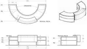 Reception Desk Cad Millwork Design Sc Design Drafting Hhhhh Pinterest