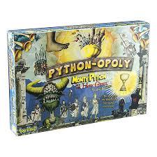 monty python opoly thinkgeek