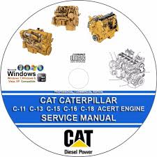 cat caterpillar c 11 c 13 c 15 c 16 c 18 acert engine service