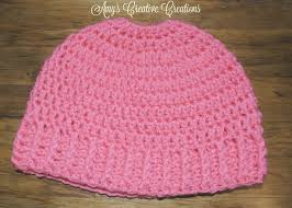 crochet elastic ribbon s crochet creative creations crochet elastic ponytail holder