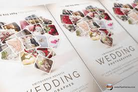 wedding poster template wedding photographer flyer template on behance