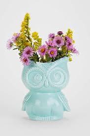 owl kitchen canisters how is this aqua owl vase need it for my o2 display