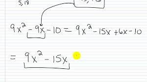 algebra i help factoring practice factoring trinomials i
