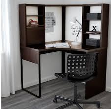 Brown Corner Desk Micke Corner Desk Black Brown Colour Ikea Finding Desk