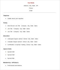 English Resume Template Free Download Resume Cover Letter Sample Free Download Hp Professional Resumes