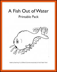 a fish out of water u2013 pre k elementary unit study the multi