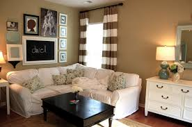 Gray And Tan Living Room by Tan And Gray Living Room Grey Wall Color Beige Fabric Simple