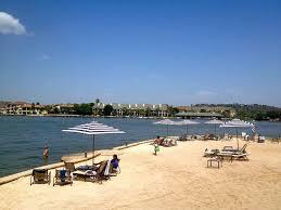 The beach at lake lbj at marriott horseshoe bay resort in texas