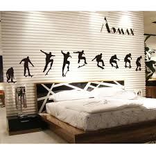wallpaper dinding kamar pria online shop m003 skateboard anak laki laki olahraga keren hidup