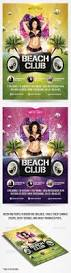 summer beach club flyer template startupstacks com