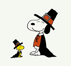 thanksgiving dinner snoopy clipart clipartpig