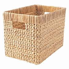 natural wicker basket the land of nod