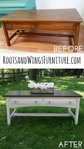 Upcycle Laminate Furniture - how to refinish and stain wood roots tutorials and woods