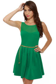 sleeveless dress green dress sleeveless dress belted dress 50 00