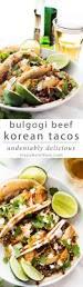 bulgogi beef korean tacos