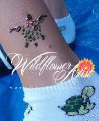 we provide professional temporary tattoo and face painting for