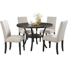 round dining table and chairs round kitchen dining room sets you ll love wayfair