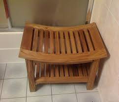Teak Benches For Showers Curved Shower Bench