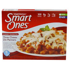 cuisine weight watchers weight watchers smart ones favorites three cheese ziti