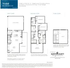 square floor plans for homes townhomes floor plans at triton square in san diego