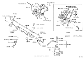 fuel injection system toyota part list jp carparts com