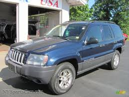 jeep dark blue 2004 jeep grand cherokee laredo 4x4 in midnight blue pearl