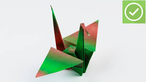 how to fold a paper crane with pictures wikihow