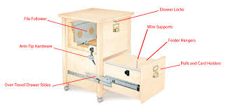 how to build a file cabinet drawer filing cabinet hardware popular woodworking magazine